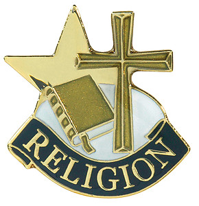 Religion Lapel Pin