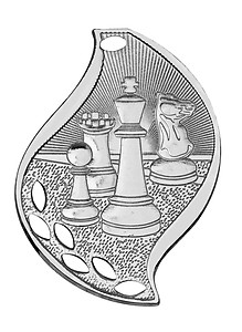 Flame Design Chess Medals as Low as $1.40