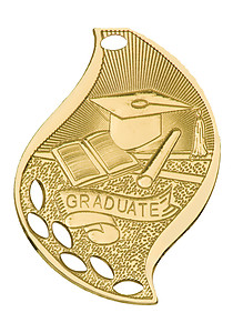 Flame Graduate Medals as Low as $1.40