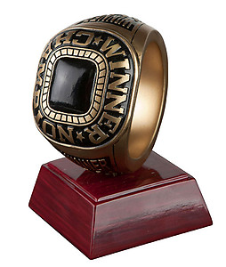 Champion Ring Trophy 4 1/2 inches tall (purchasing 1-3 )