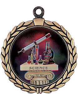 Insert Science Medal as Low as $1.90