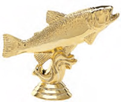 Trout Fishing Trophy Figure 458