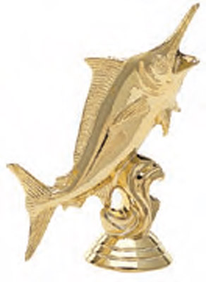 Marlin Fish Trophy Figure 460