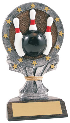 Resin Bowling Trophy 611-661