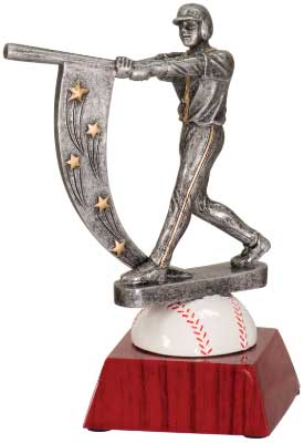 Resin Star Baseball Trophies