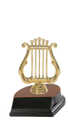 Small Music Trophy, Band Trophy