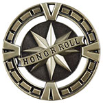BG465 Big Honor Roll Medal with Six Pricing Options
