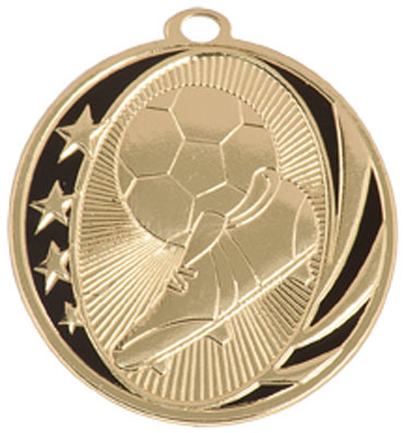 2 inch Midnight Star Soccer Medal Your Lowest Price $1.60