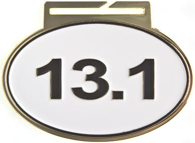 OV-313 Large Half Marathon 13.1K Medal as Low as $2.99