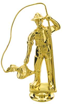 Fisherman Trophy Figure 80705