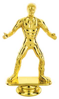 Wrestling Trophy Figure 80755