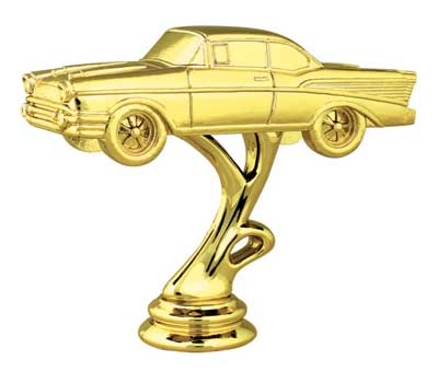 Add this Classic Car Trophy figure to any our trophy styles.