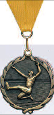 Long Jump Track Medal Male or Female