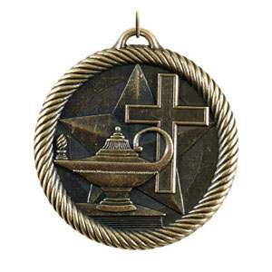 VM-248 Christian School Medals as Low as $1.40 including neck ribbons.