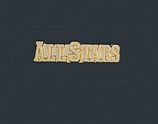 All Star Letter Pin 102