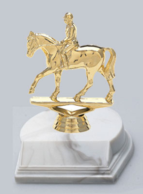 Small Equestrian, Rodeo and Horse Show Trophies