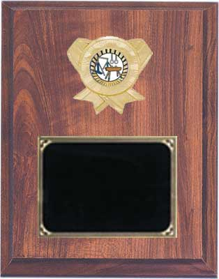 Deluxe Gymnastic Plaques with Free Engraving