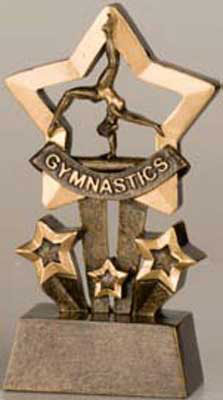 Star Gymnastic Trophy only $6.50