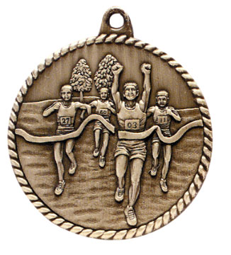 Cross Country Medal HR780 Buy 100 or More $1.60