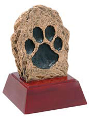 Promote School Spirit with a Paw Print Mascot
