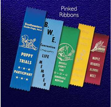 9 Sizes of Flat Ribbons with Your Print