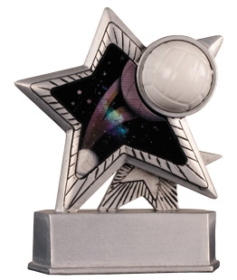 Motion Star Volleyball Trophy