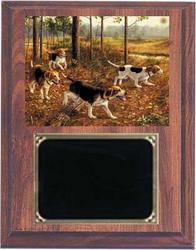 Beagle Field Trial Plaques V Series