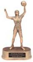 Resin girls Volleyball Statue 72G