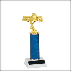 Car Trophies and Truck Trophies with Single Round Columns