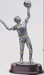 Resin Men's Volleyball Trophy Statue 5171SG