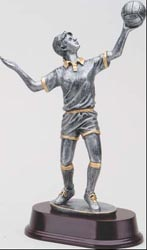 Resin Girls Volleyball Trophy Statue 5176SG