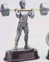 Weightlifting Statue Trophy RX431SG