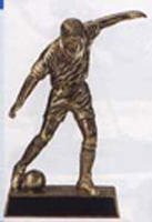 Men's or Boys' Soccer Resin Trophy Statue RF111