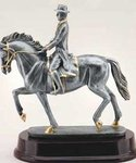 Resin Male Dressage Trophy