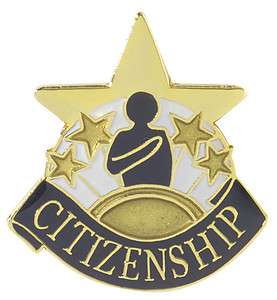 Citizenship Lapel Pin
