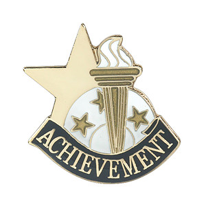 Achievement Lapel Pin