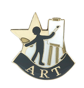 Art Lapel Pin