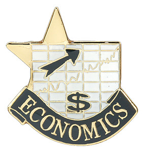Economics Lapel Pin