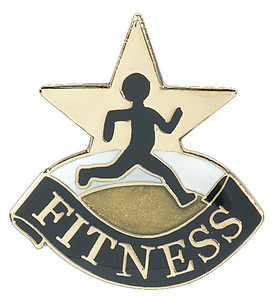 Fitness Lapel Pin
