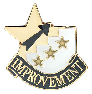 Improvement Lapel Pin