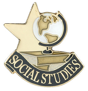 Social Studies Lapel Pin