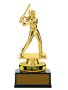 Softball Trophies with Wristbands TB Series, Lowest Price, buy 25 or More $6.29