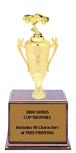 CF2800 Pickup Cup Trophies with 9 Size Options, and Three Truck Options