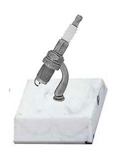 BF Spark Plug Trophies, Choose from 3 Toppers