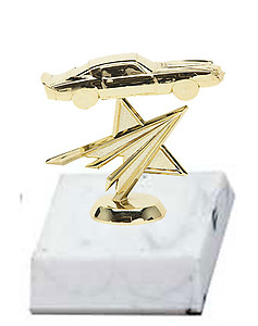 BF Camaro Muscle Car Trophies