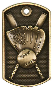 JDT201 Series Dog Tag Baseball Medal, as low as $1.40