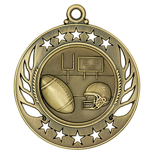 GM104 Football Medal with Six Pricing Options