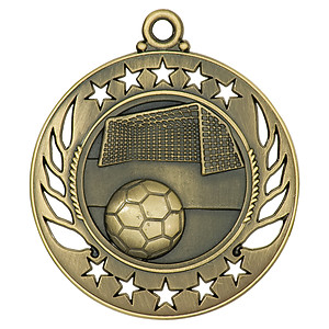 GM109 Soccer Medal with Six Pricing Options