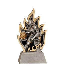 Ingite Boys Basketball Trophies GT12-32 with two size options