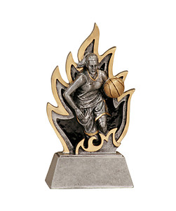 Ingite Girls Basketball Trophies GT13-33 with two size options